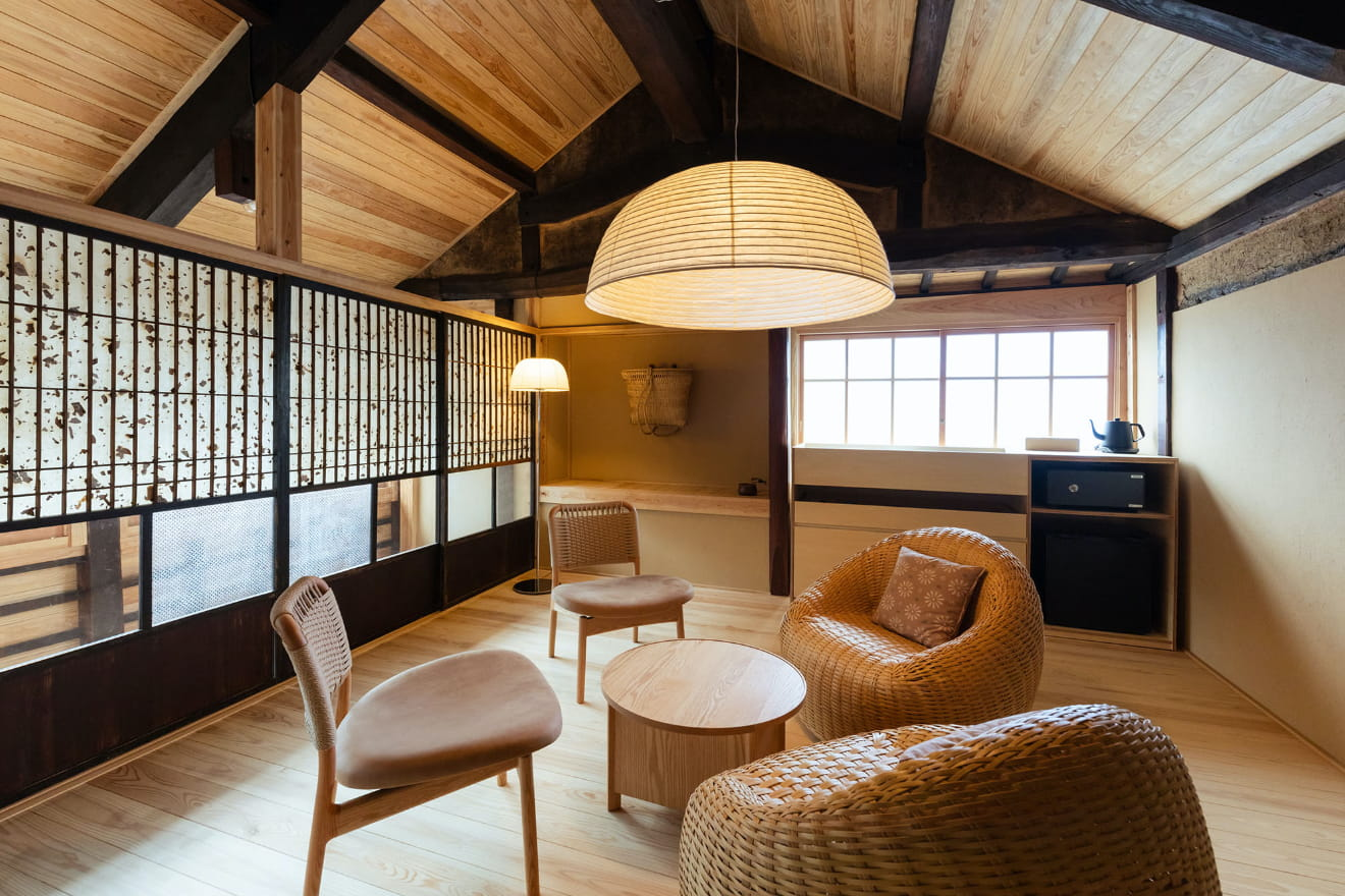 竹の部屋のイメージ写真